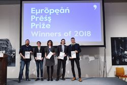 Blinken OSA Hosted the European Press Prize Award Ceremony