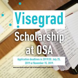 Visegrad Scholarship Results at Blinken OSA