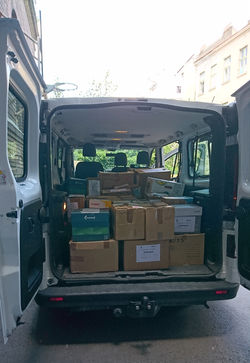 The last OSF books transferred to Oradea