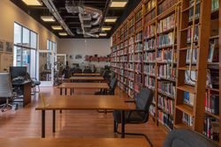 Empty Research Room by Edit Blaumann