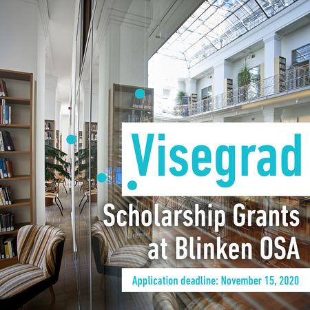 Visegrad Scholarship Results at Blinken OSA