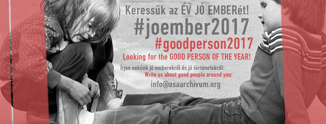 #joember2017 #goodperson2017