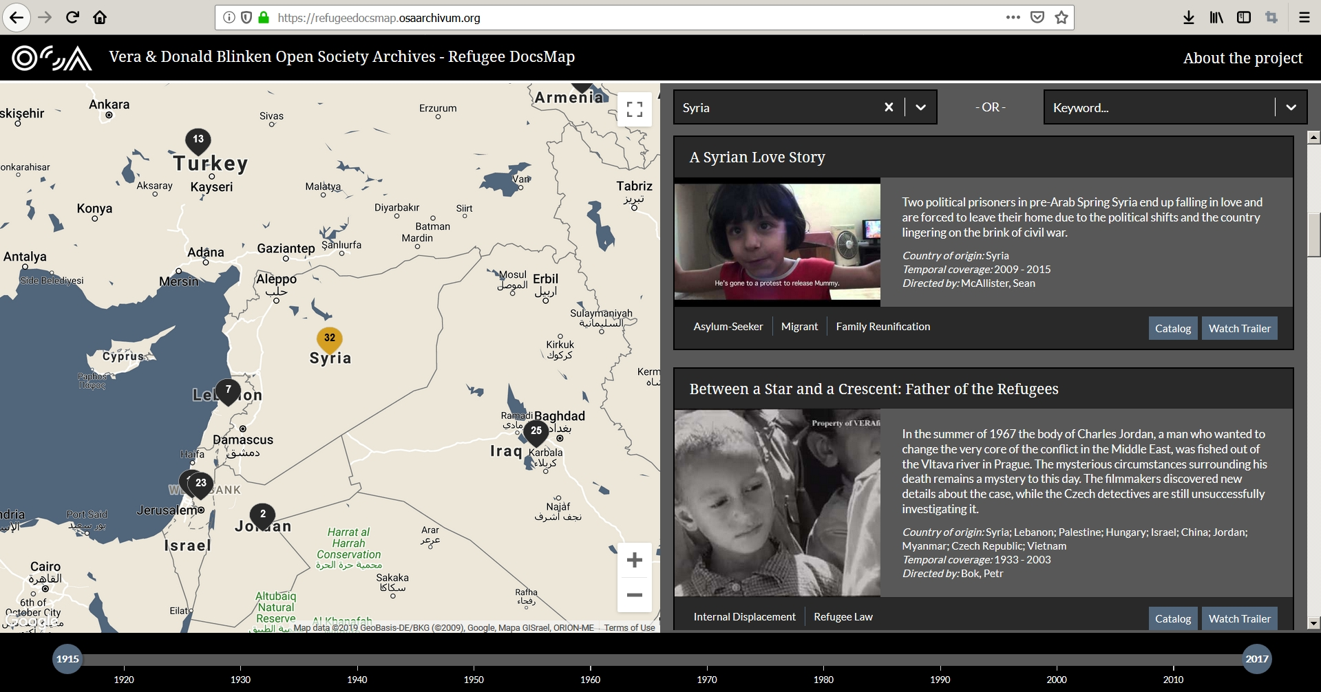 Refugee DocsMap Published