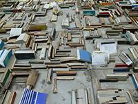 Concrete (books bound in concrete)