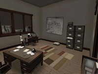 Raoul Wallenberg's Office in Second Life